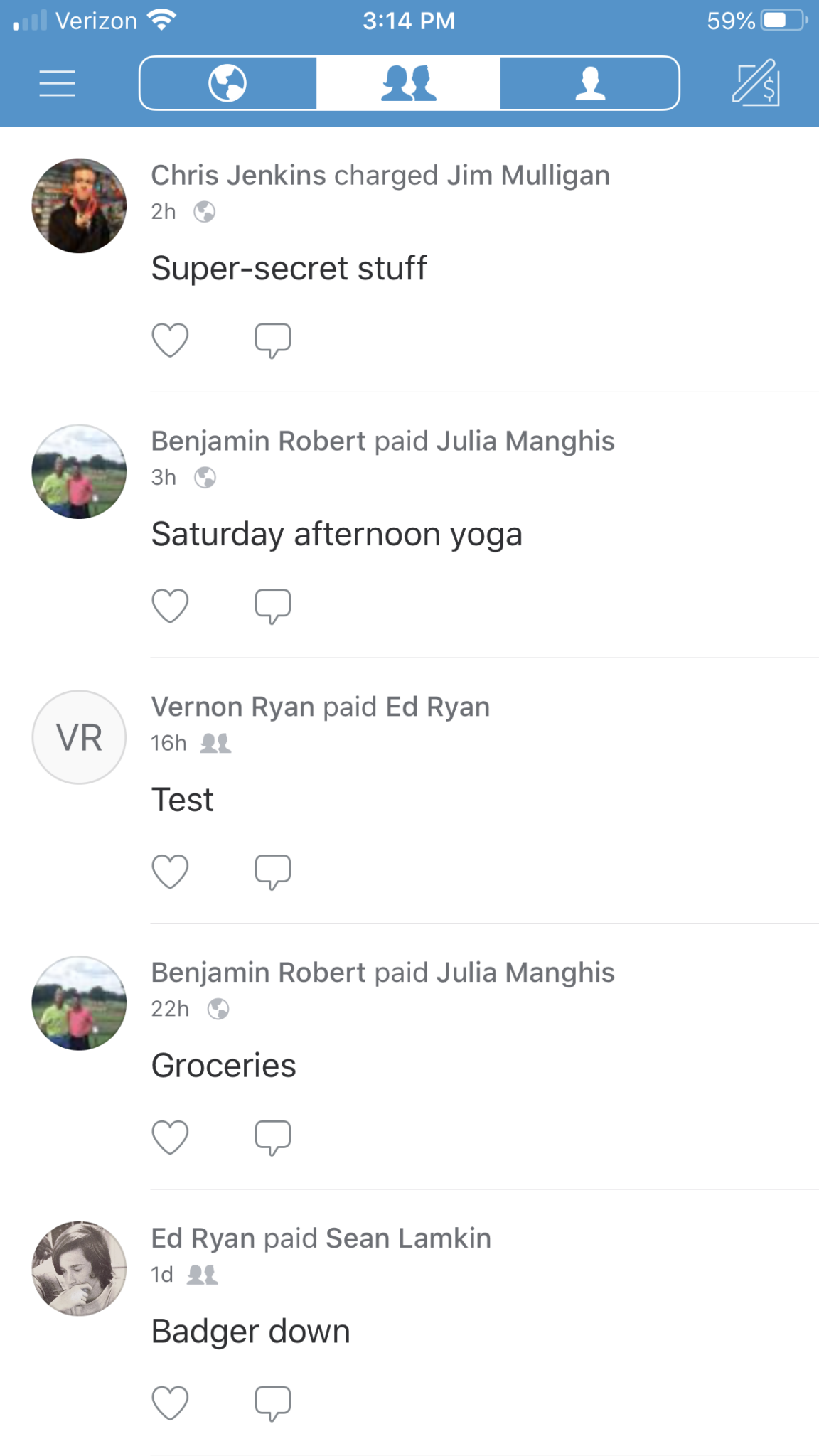 Venmo Screenshot