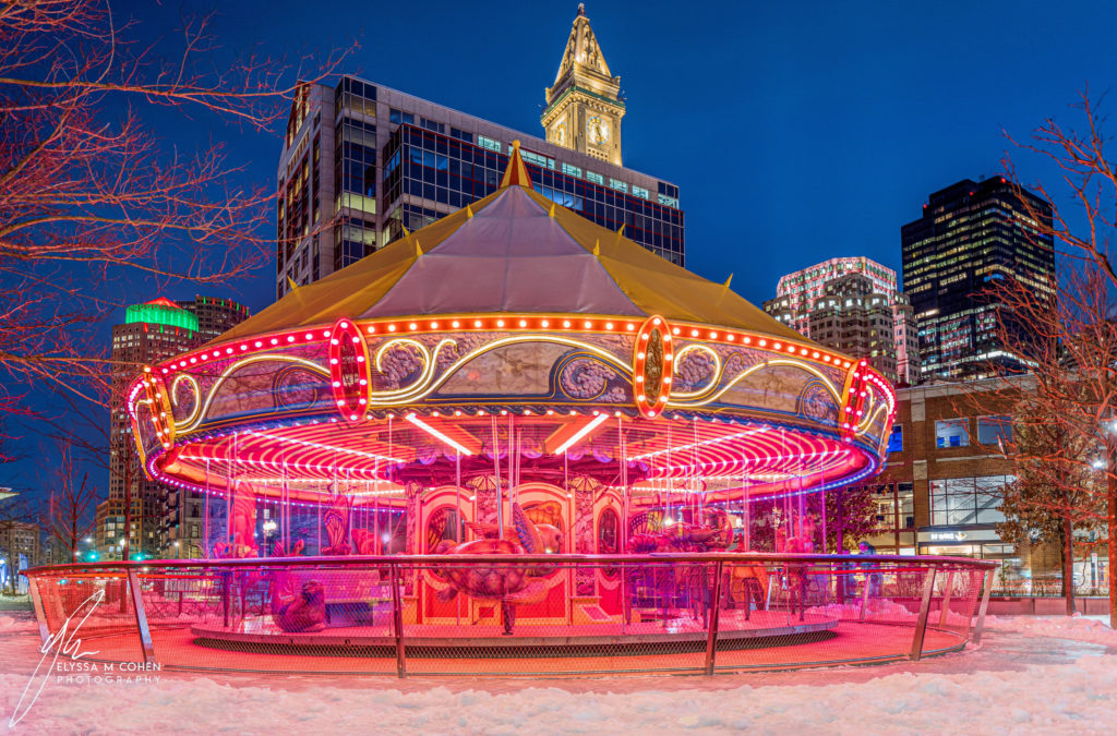 Greenway Carousel at the Tiffany & Co Foundation Grove - Life is like a carousel, it never stops spinning so we may as well ride it with a smile